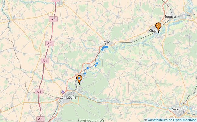 plan Canal Latéral à l'Oise