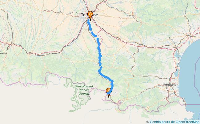 plan L'Ariège