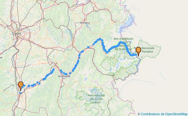 plan L'Isère
