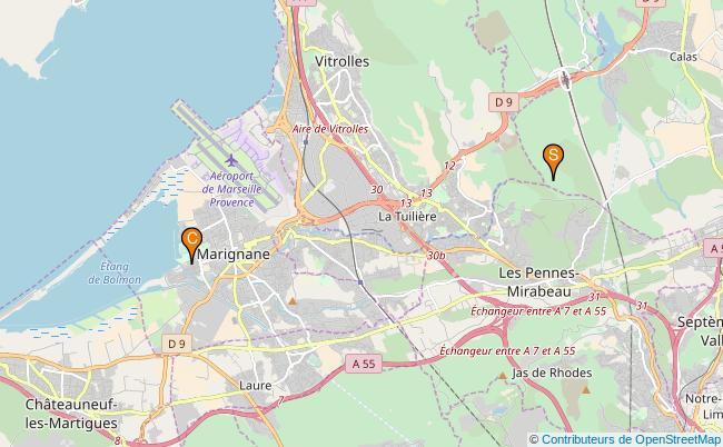 plan La Cadière