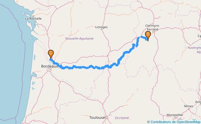 plan La Dordogne