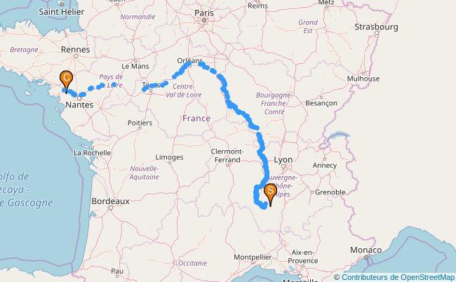 plan la Loire
