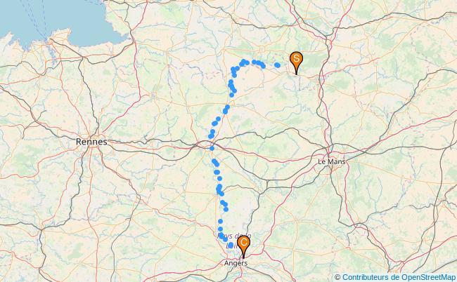 plan la Mayenne