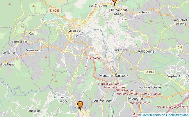 plan La Mourachonne