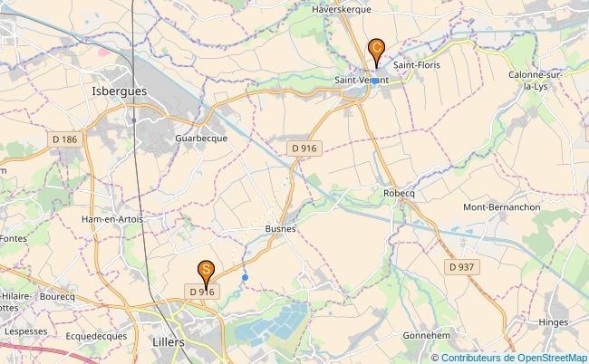 plan Rivière de Busnes