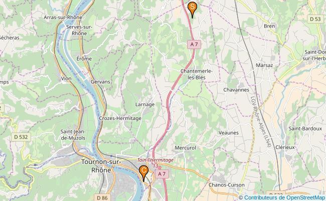 plan Ruisseau de la Bouterne