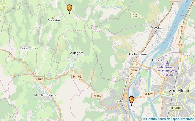 plan Ruisseau de Lorobouire
