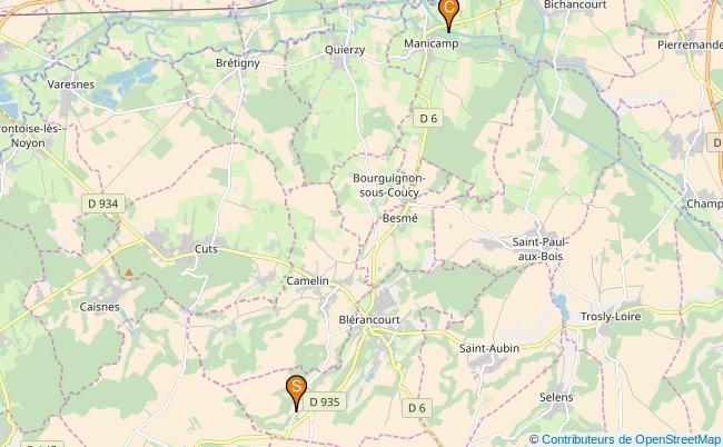 plan Ruisseau du Ponceau