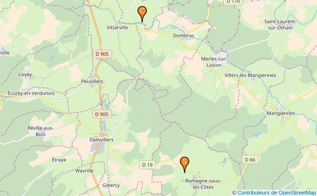 plan Ruisseau la Brevonte