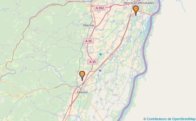 plan Ruisseau la Scheer