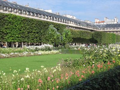 Jardin du palais royal paris for Visite de jardins en france