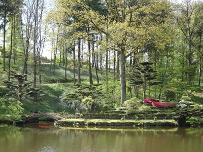 Parc oriental de maul vrier maul vrier for Le jardin oriental de maulevrier