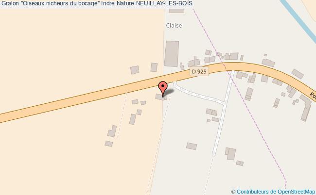 """plan """"oiseaux Nicheurs Du Bocage"""" Indre Nature Neuillay-les-bois"""