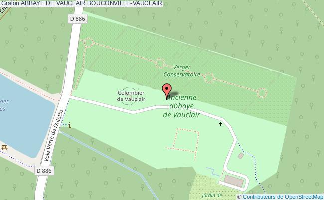 plan Abbaye De Vauclair Bouconville-vauclair