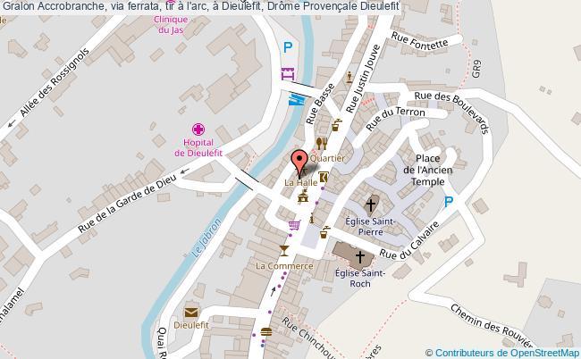 plan Accrobranche, Via Ferrata, Tir à L'arc, à Dieulefit, Drôme Provençale Dieulefit