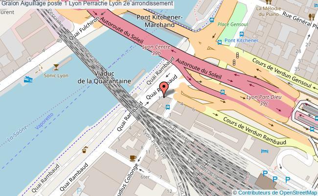 Aiguillage poste 1 lyon perrache Lyon 2e arrondissement tourisme