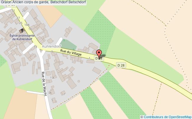 plan Ancien Corps De Garde, Betschdorf Betschdorf