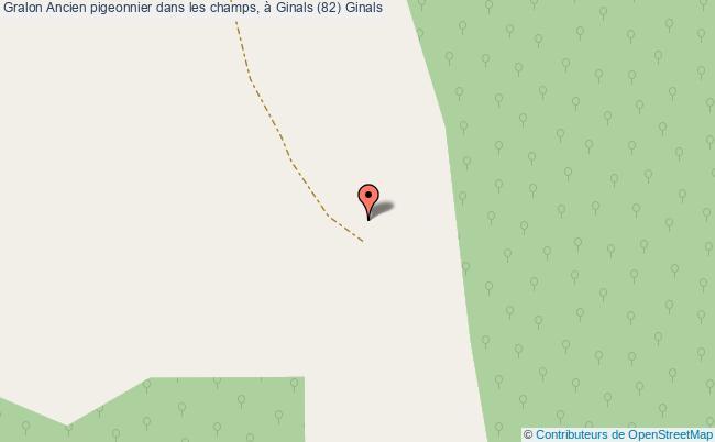 plan Ancien Pigeonnier Dans Les Champs, à Ginals (82) Ginals