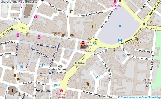 plan Aqua Parc Bergerac