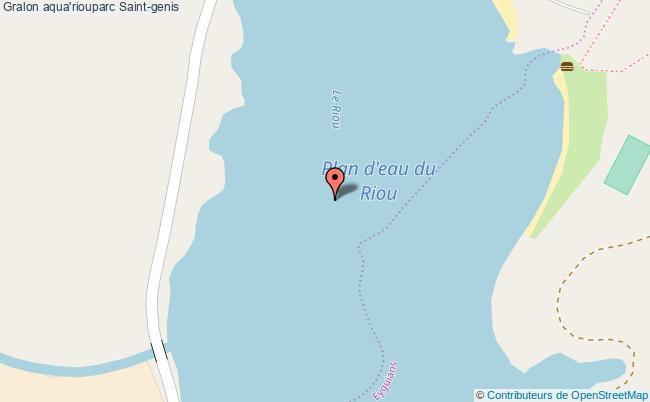 plan Aqua'riouparc Saint-genis