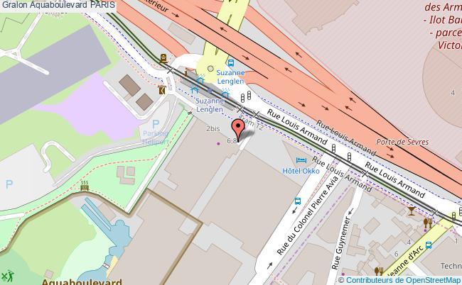 plan Aquaboulevard Paris