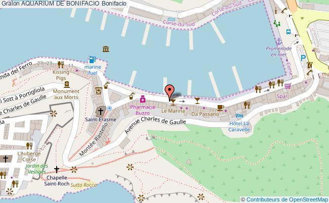 plan association Aquarium De Bonifacio Bonifacio Bonifacio