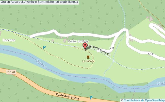 plan Aquarock Aventure Saint-michel-de-chabrillanoux