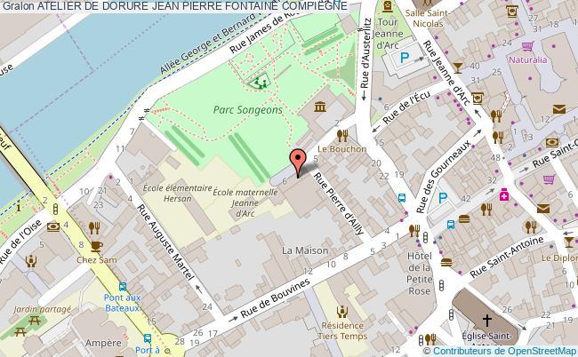 plan Atelier De Dorure Jean Pierre Fontaine Compiegne