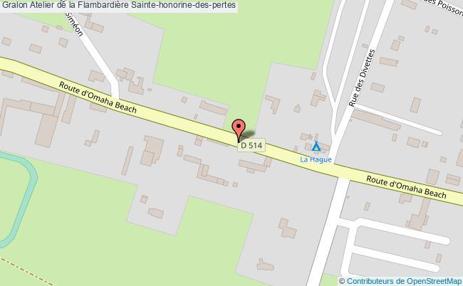 plan association Atelier De La Flambardière Sainte-honorine-des-pertes Sainte-honorine-des-pertes