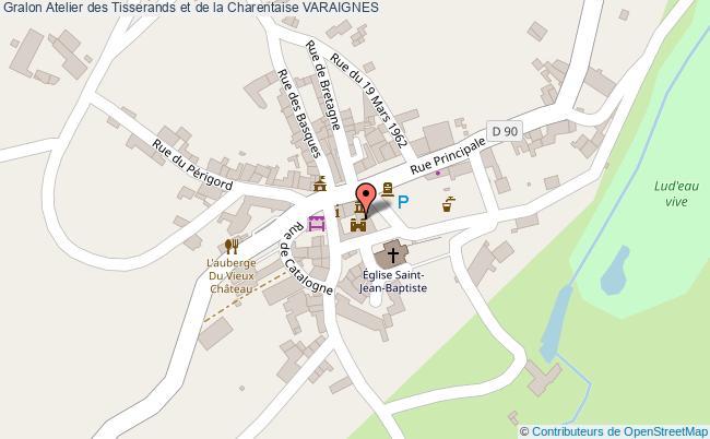 plan Atelier Des Tisserands Et De La Charentaise Varaignes