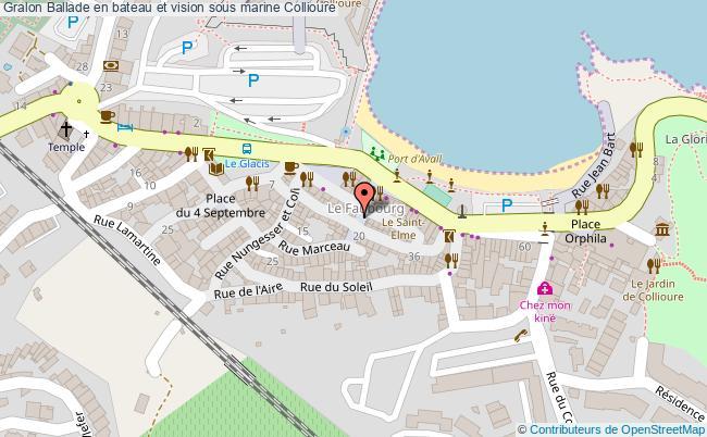 plan Ballade En Bateau Et Vision Sous Marine Collioure