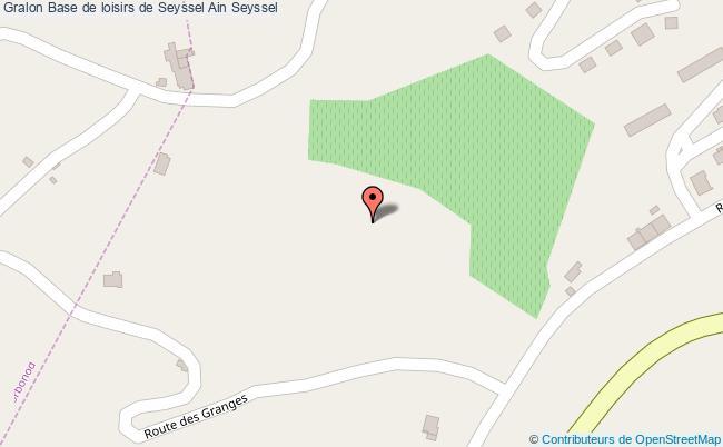 plan Base De Loisirs De Seyssel Ain Seyssel