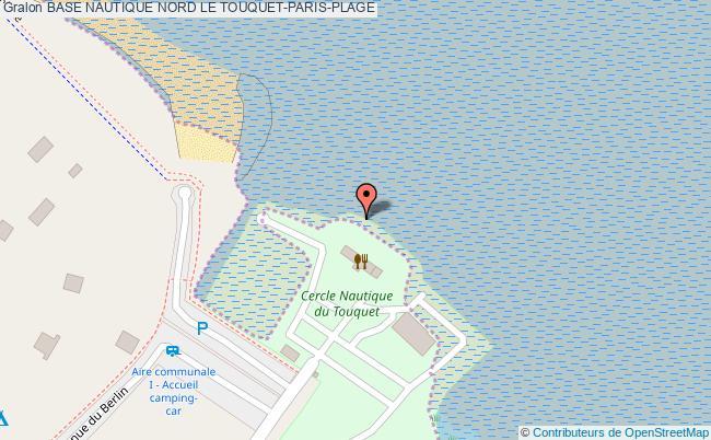 plan Base Nautique Nord Le Touquet-paris-plage