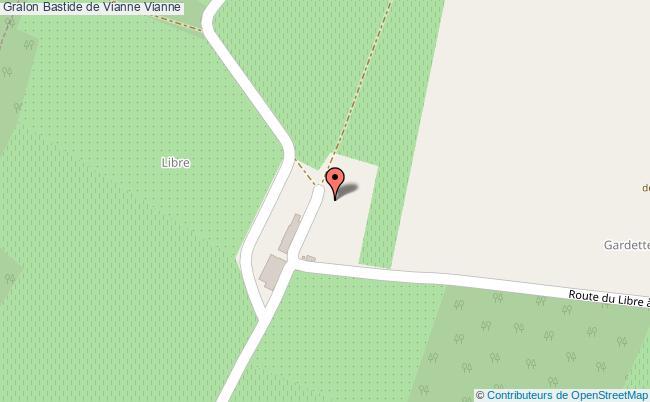 plan Bastide De Vianne Vianne