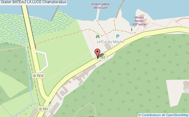 plan Bateau La Luce Champtoceaux