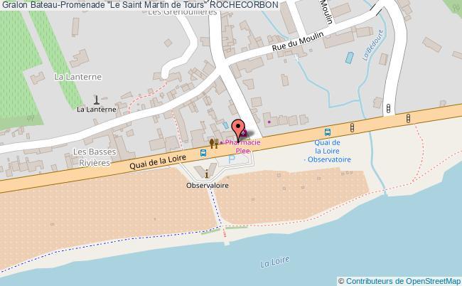 "plan Bateau-promenade ""le Saint Martin De Tours"" Rochecorbon"