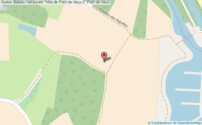 """plan Bateau Restaurant """"ville De Pont De Vaux 2"""" Pont-de-vaux"""