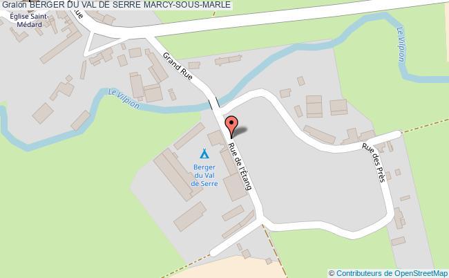 plan Berger Du Val De Serre Marcy-sous-marle