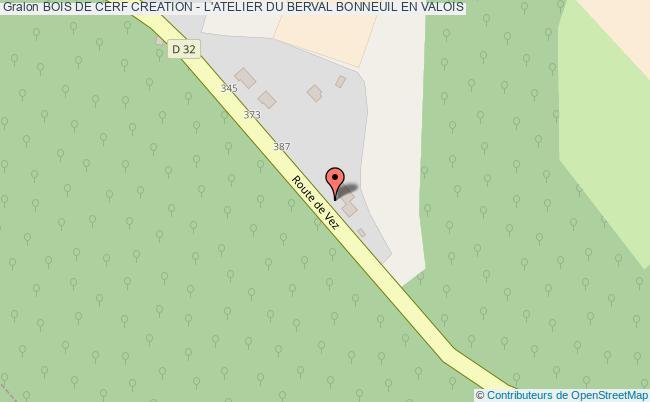 plan Bois De Cerf Creation - L'atelier Du Berval Bonneuil En Valois