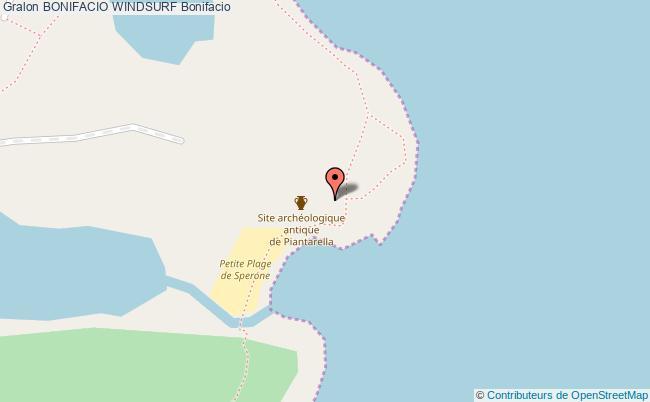 plan association Bonifacio Windsurf Bonifacio Bonifacio