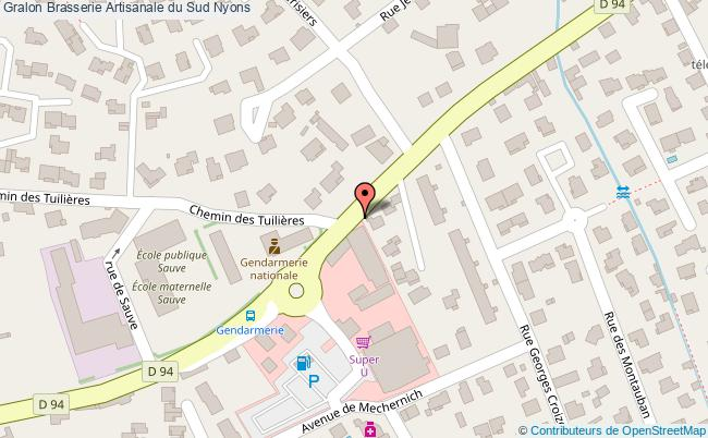 plan Brasserie Artisanale Du Sud Nyons