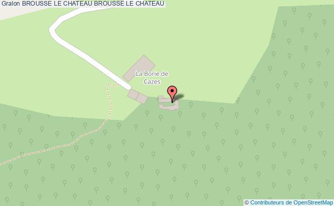 plan Brousse Le Chateau Brousse Le Chateau