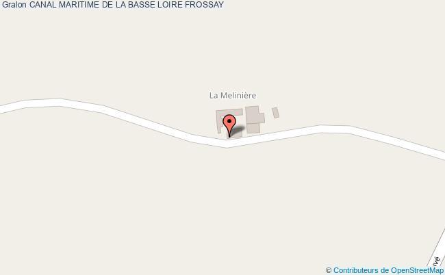 plan association Canal Maritime De La Basse Loire Frossay FROSSAY