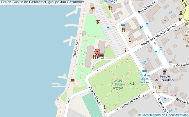 plan association Casino De Gerardmer, Groupe Joa Gérardmer Gérardmer
