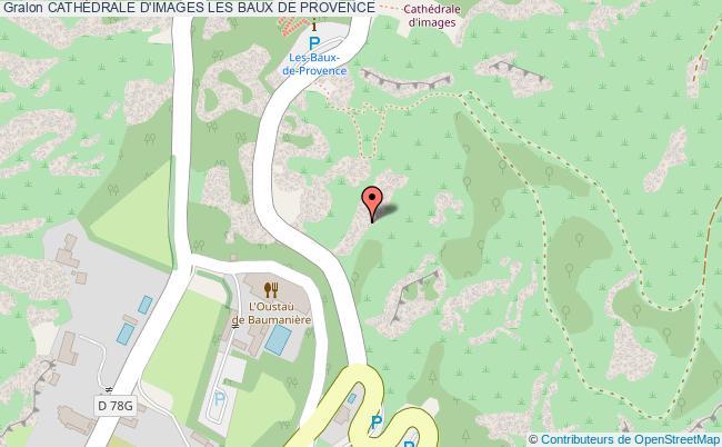 plan CathÉdrale D'images Les Baux De Provence