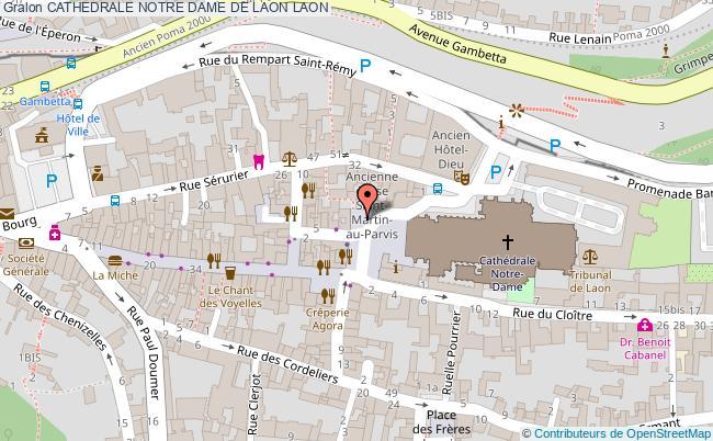 plan Cathedrale Notre Dame De Laon Laon