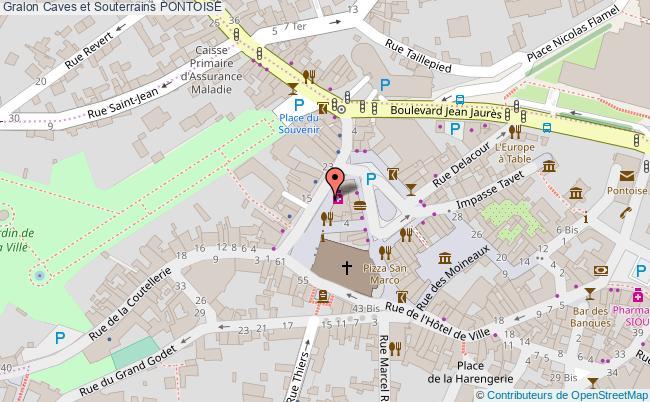 plan Caves Et Souterrains Pontoise