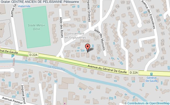 plan Centre Ancien De PÉlissanne Pélissanne