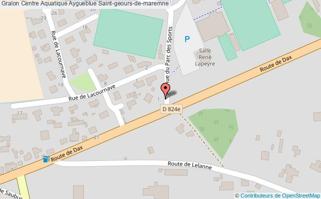 Centre aquatique aygueblue saint geours de maremne for Aygueblue piscine
