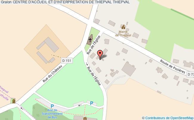 plan Centre D'accueil Et D'interpretation De Thiepval Thiepval